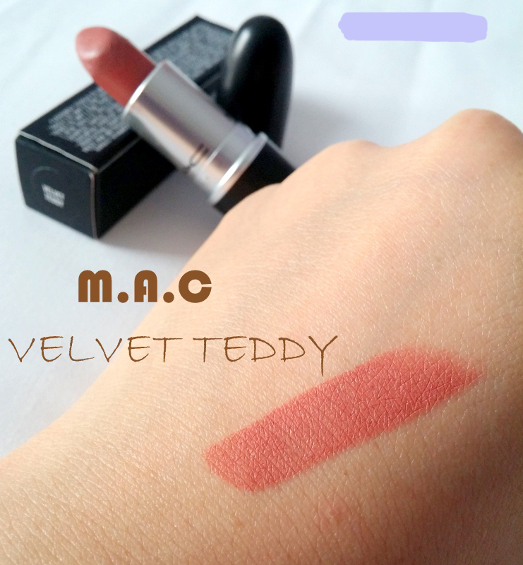 Son MAC Velvet Teddy lì mịn